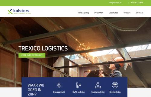 Kolsters Website Screenshot